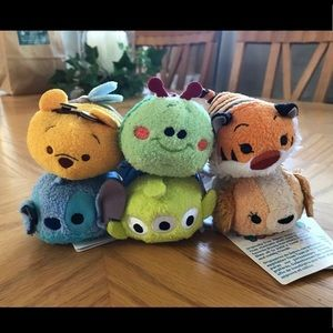NWT Disney Tsum Tsum Lot of 6